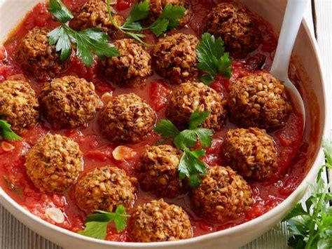 vegetarian meatballs recipe lentils lentil meatballs recipe food network kitchen