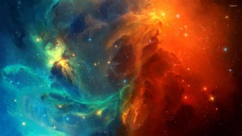 colorful universe wallpaper colorful nebula 2 wallpaper space wallpapers 21981