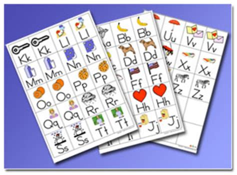 printable alphabet go fish cards do2learn educational resources for special needs
