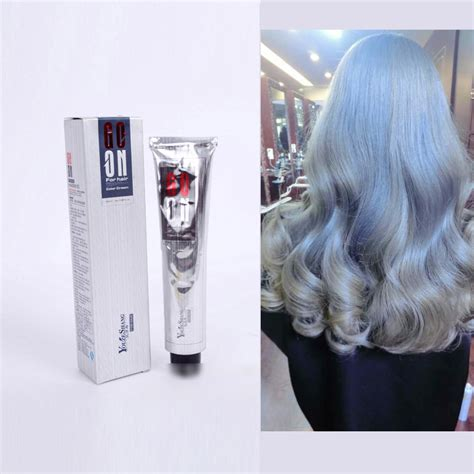 hair toners non toxic new silver grey hair color cream super hair dye non toxic