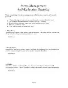 stress management worksheet pdf psych rehab