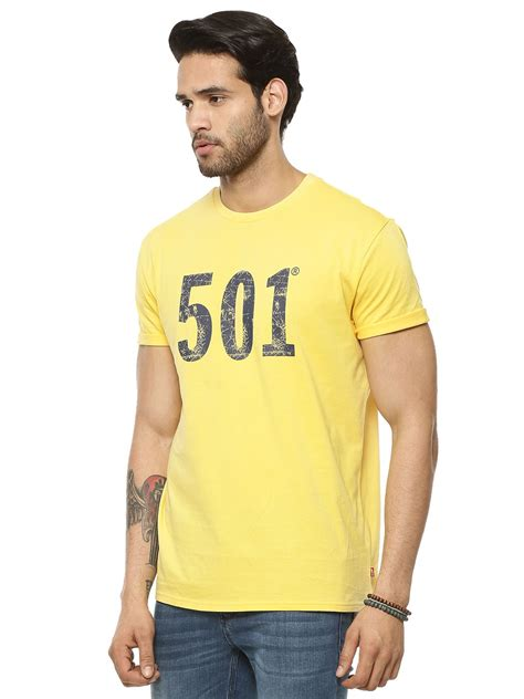 Tshirt Levis 501 buy levi s 501 cracked print t shirt for s