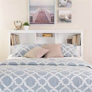 Headboard With Shelf Prepac Monterey Bookcase White Headboard Ebay