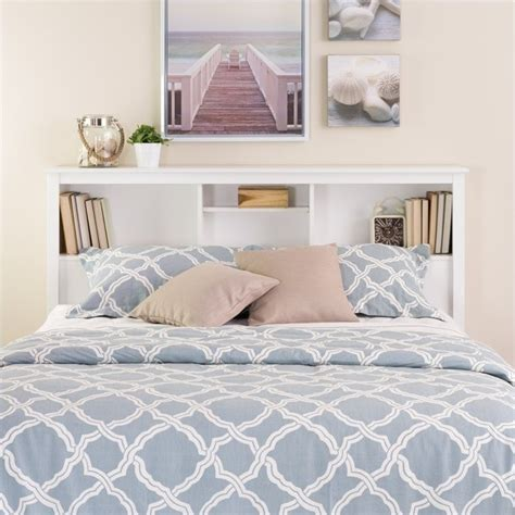 headboard with shelves queen prepac monterey full queen bookcase white headboard ebay