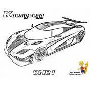 Supercar Coloring Free Super Cars Koenigsegg Maserati