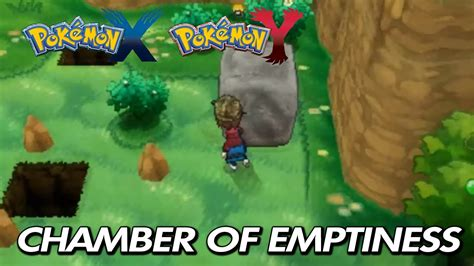earthquake x and y pokemon x y where to find quot chamber of emptiness