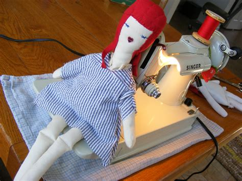 rag doll tutorial c follower bags and quilts doll dress pattern