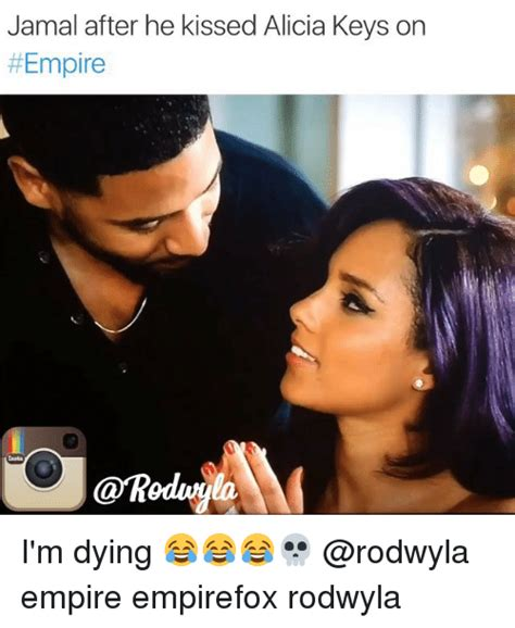 Alicia Keys Meme - soooo andre was supposed to strip naked on the roof and