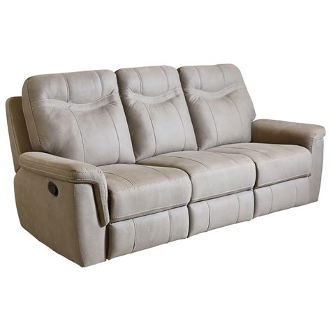 reclining sofa contemporary colored reclining sofa by standard