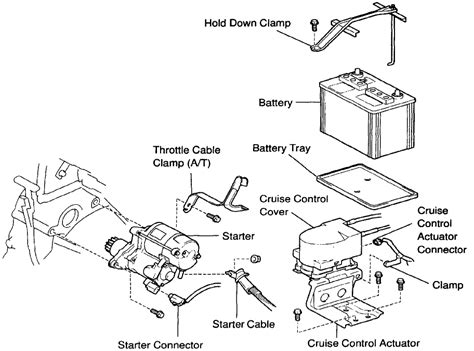toyota camry starter location where is the starter located on a 98 toyota camry bottom
