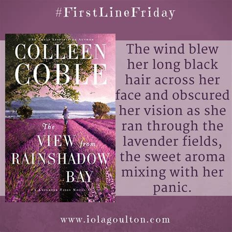 the view from rainshadow bay a lavender tides novel books line friday week 23 the view from rainshadow bay