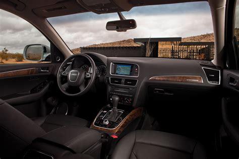Audi Q 5 Interior by Audi Q5 3 2 Fsi Black Interior Eurocar News
