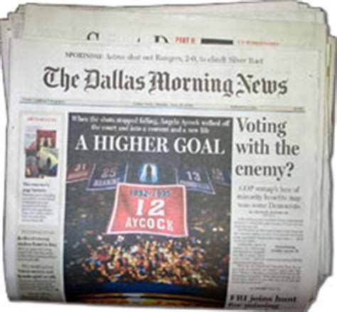 dallas newspaper sports section dallas morning news the dallas morning news is the