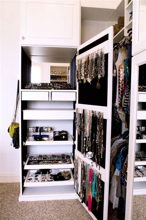 Jewelry Organizer For Closet by How To Use Every Sqft Of Space For Clever Storage