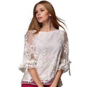 w92141a 2016 women summer fashion tops blouses ladies