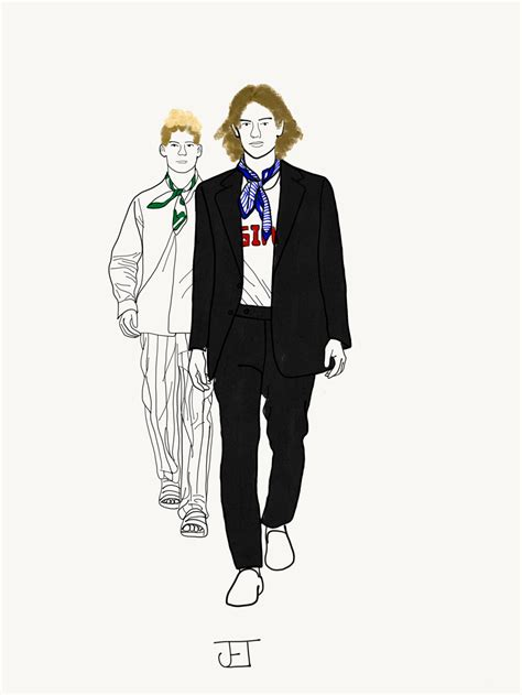 fashion illustration new york fashion week