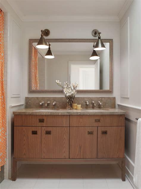sweet bathroom designs sweet bathroom vanity ideas of wood in double sink idea among a single large mirror as