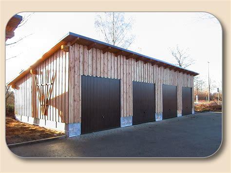 Holz Garagen Nach Ma 223 Von Holzon De
