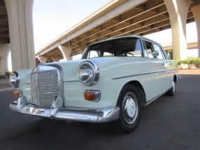 Mercedes 200 Diesel 1967 Mercedes 200 Diesel Arizona Car That Is 99 Rust