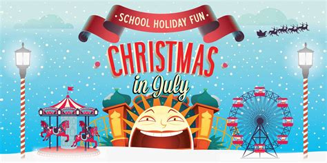 christmas in july christmas in july at luna park melbourne