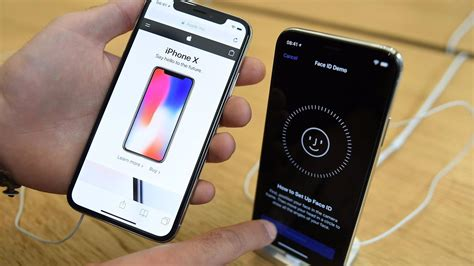 apple iphone x attracts lines of eager buyers even at 999 today