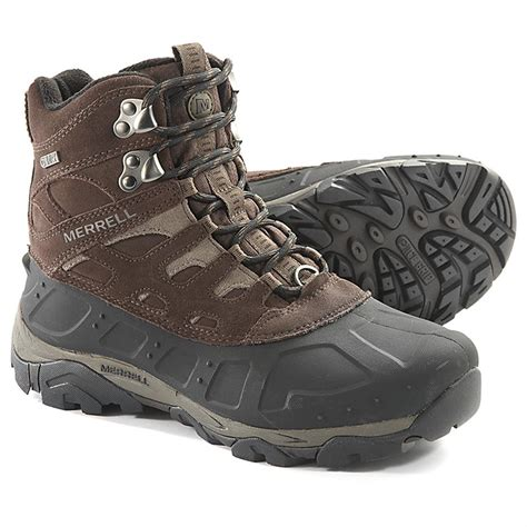 hiking boots merrell s 400 gram moab polar hiking boots 593900