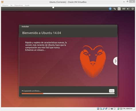 imagenes para virtual box c 243 mo virtualizar ubuntu en windows utilizando virtualbox