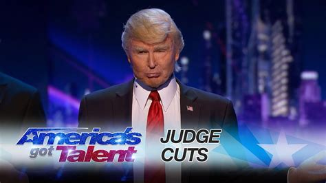 donald trump on america got talent the singing trump bringing america together with