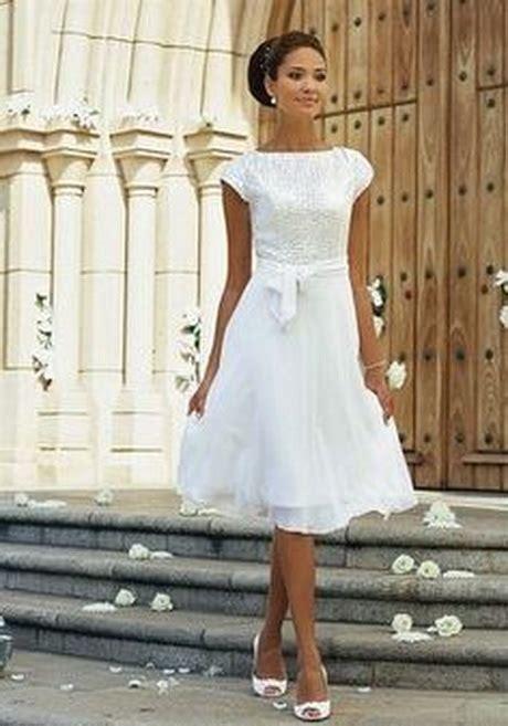 Kurze Brautkleider Standesamt by Kleider Wei 223 Standesamt