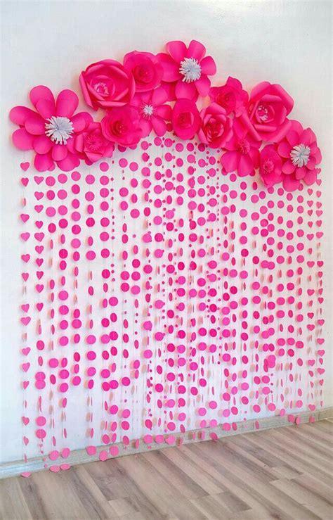 5 ideas para decorar fiestas con papel m 225 s de 1000 ideas sobre cortina de flores en