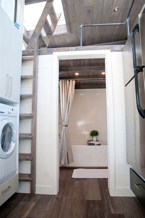 tiny house  private bedroom offers minimalist chic
