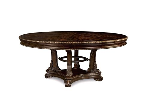 gables exotic okume wood  point  dining table
