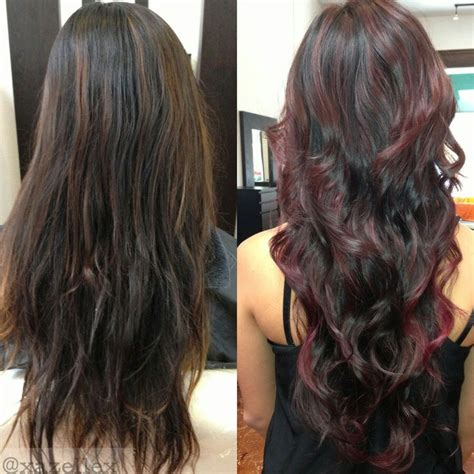 blonde and burgundy high and low lights for short ladies hairstyles 1000 ideas about brown low lights on pinterest low