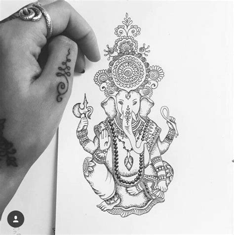 om and ganesh tattoo designs 1000 ideas about om design on