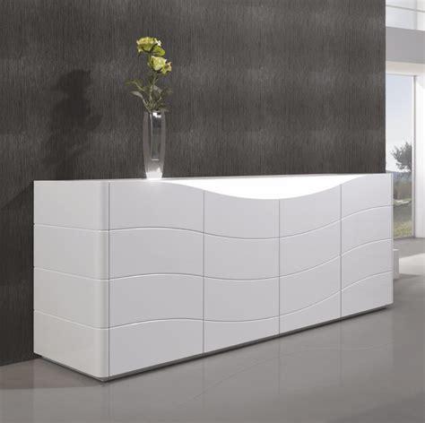 luxury modern sideboard cabinet buffet in white gloss