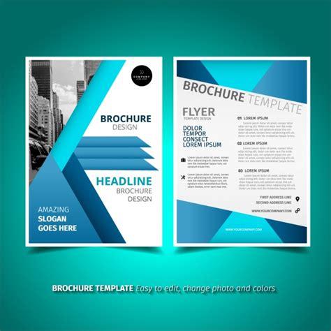 company profile template microsoft publisher brochure template design vector free