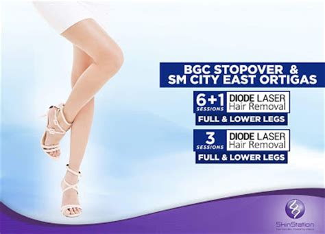 diode laser hair removal quezon city manila shopper skinstation bgc stopover sm city east ortigas diode laser hair removal promo