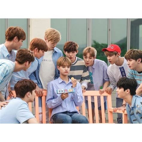 Wanna One Lotte Yohi Biscuits update wannaone for yohi biscuits wanna one 워너원 amino