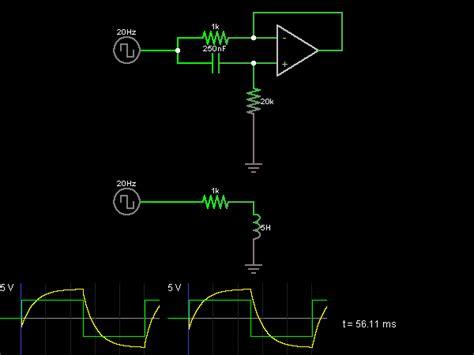 inductor gyrator gyrator circuit simulator