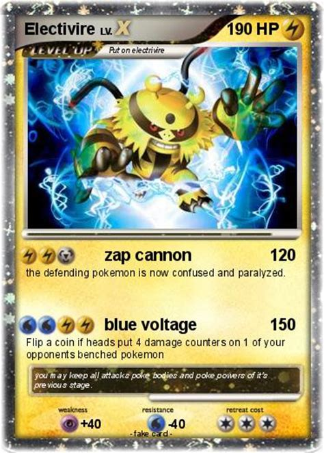 Card Electabuzz Electivire electivire images images