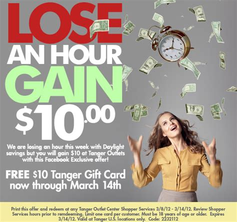 Free Tanger Gift Card - free tanger outlets 10 gift card thesuburbanmom