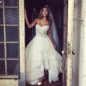 Scherzinger makes a radiant bride in her latest shoot the best