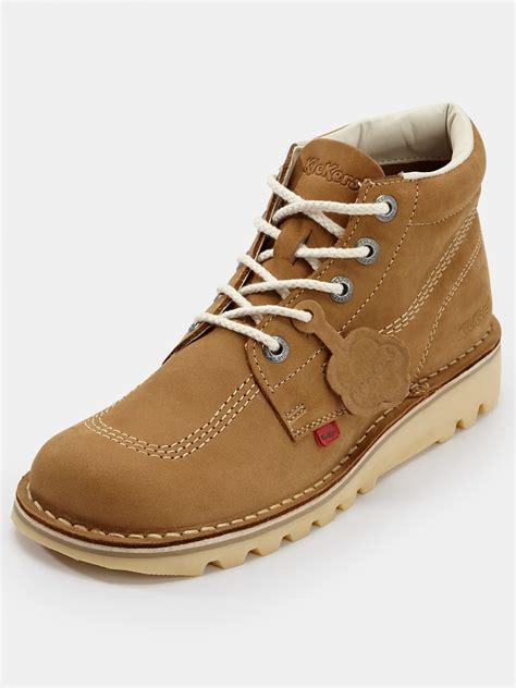 Kickers Brown kickers kickers kick hi mens boots in brown for