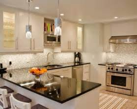 Small Kitchen White Cabinets What Are The Best Granite Countertop Colors For White