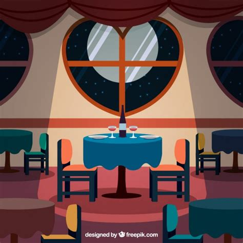 cafe interior design vector elegant interior restaurant vector premium download
