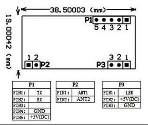 Rfid Reader Rdm6300 125khz Em4100 Limited uart 125khz em4100 rfid card key id reader module rdm6300 rdm630 for arduino ebay
