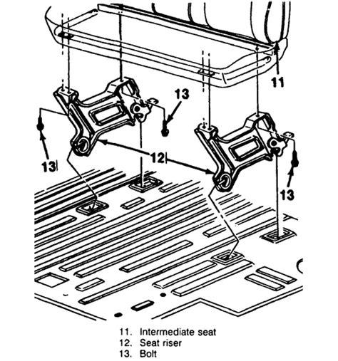 autozone seat riser 2000 chevrolet truck blazer 4wd 4 3l fi ohv 6cyl repair