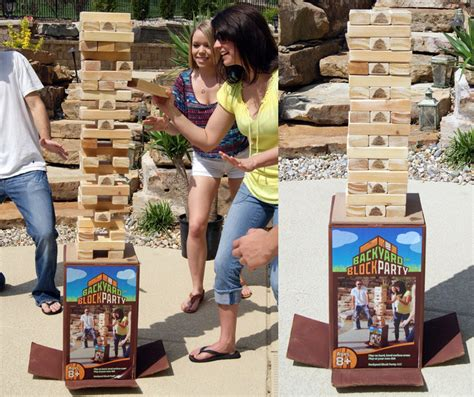 cool backyard games cool backyard games backyard block party massive outdoor wooden block game
