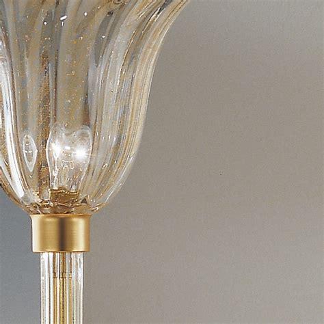 illuminazione murano musa romantica piantana in vetro soffiato di murano