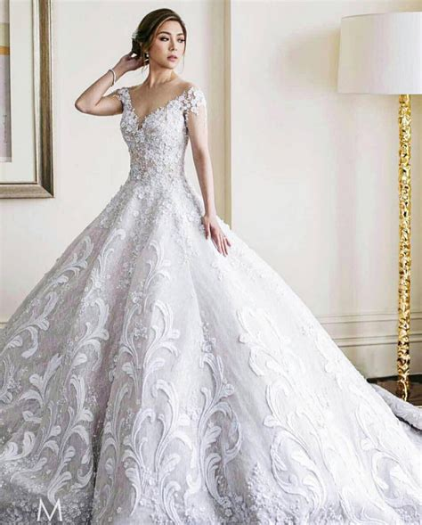 design dream wedding dress online social media sensation wedding dress designer mak tumang